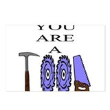 You Are A Tool Postcards (Package of 8)
