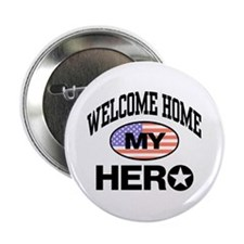 Welcome Home My Hero Button