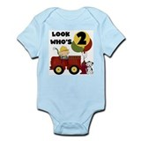 Fireman 2nd Birthday Infant Bodysuit