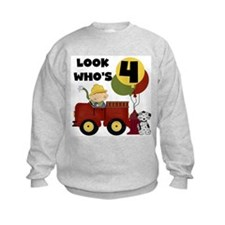 Fireman 4th Birthday Jumpers