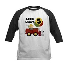 Fireman 5th Birthday Tee