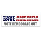 Save America Bumper Bumper Sticker
