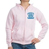 Greece Zipped Hoody