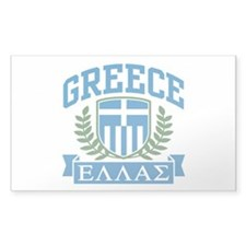 Greece Rectangle Decal