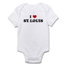 I Love ST. LOUIS Infant Bodysuit