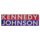 1960 Kennedy-Johnson Bumper Bumper Stickers
