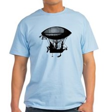 Steampunk pirate airship T-Shirt
