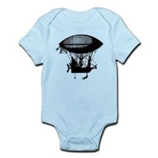 Steampunk pirate airship Infant Bodysuit