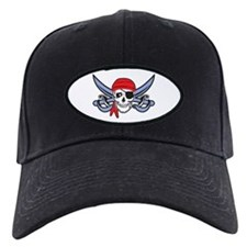 Pirate Skull Baseball Hat