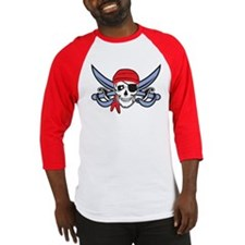 Pirate Skull Baseball Jersey