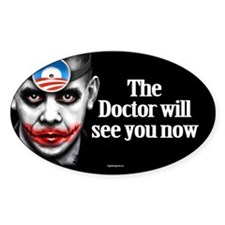 Doctor O Oval Sticker (10 pk)
