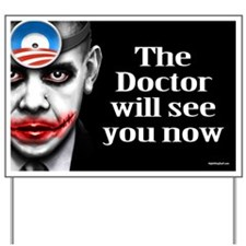 Doctor O Yard Sign
