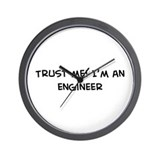 Trust Me: Engineer Wall Clock