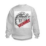 Property Of Drummer Kids Sweatshirt