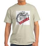 Property Of Drummer Ash Grey T-Shirt