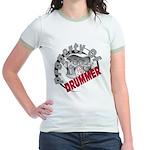 Property Of Drummer Jr. Ringer T-Shirt