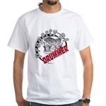 Property Of Drummer White T-Shirt