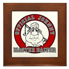 Master Baiter Official Johnny Framed Tile