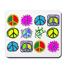 PEACE SYMBOLS Mousepad