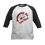 Guitar Player Kids Baseball Jersey