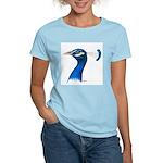 Peacock Head Women's Light T-Shirt