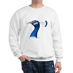 Peacock Head Sweatshirt