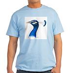 Peacock Head Light T-Shirt