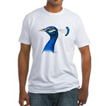Peacock Head Fitted T-Shirt