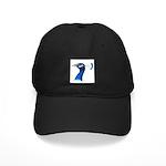 Peacock Head Black Cap
