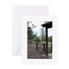 A Picture in Lincoln, NM Greeting Card