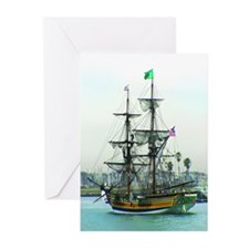 Tall Ships Greeting Cards (Pk of 10)