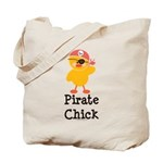 Pirate Chick Tote Bag