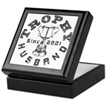 Trophy Husband Since 2001 Keepsake Box