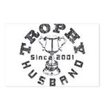 Trophy Husband Since 2001 Postcards (Package of 8)