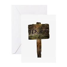 Idjit Greeting Card