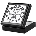 Trophy Husband Since 2002 Keepsake Box