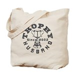 Trophy Husband Since 2002 Tote Bag
