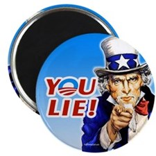 "Uncle Sam - You Lie! 2.25"" Magnet (100 pack)"