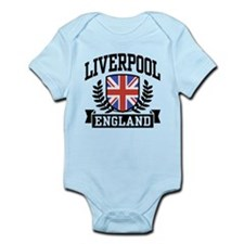 Liverpool England Infant Bodysuit
