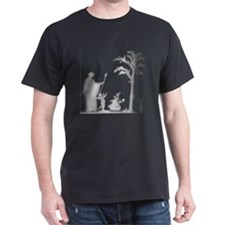 Roman Life Sculpture t-shirt Black T-Shirt