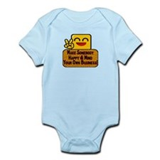 Mind Your Business Infant Bodysuit