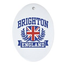 Brighton England Oval Ornament