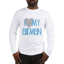 I Love My Airman Long Sleeve T-Shirt