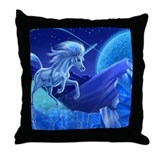 Young Unicorn page 4 Throw Pillow