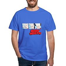 Mary Comic Panels Dark T-Shirt