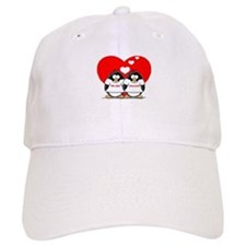 We Are Engaged Penguins Baseball Cap