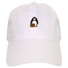 Chocolate Birthday Cake Pengu Baseball Cap