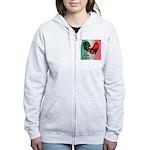El Gallo Grande Women's Zip Hoodie