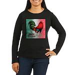 El Gallo Grande Women's Long Sleeve Dark T-Shirt