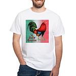 El Gallo Grande White T-Shirt